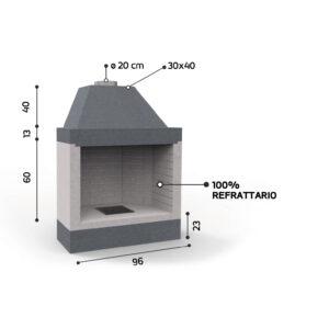 KR 1080 - Caminetti