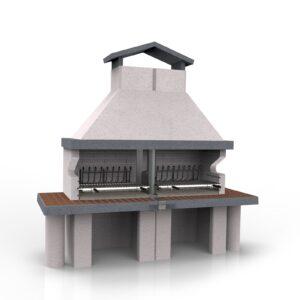 GOLIA - Barbecue in muratura