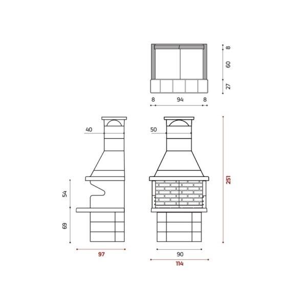 BARBECUE 201 - Barbecue in muratura